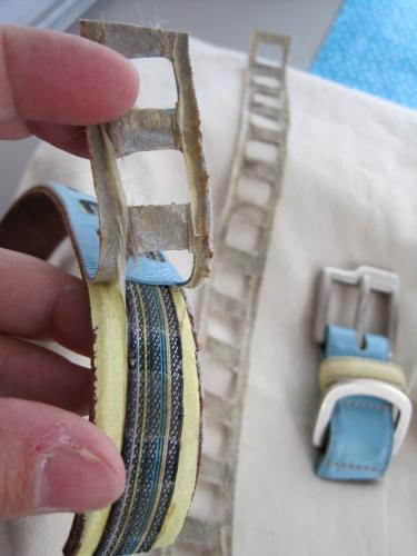 taking apart a collar
